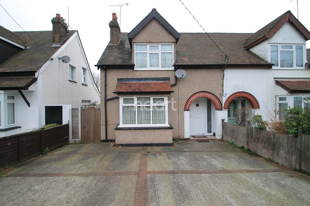 2 Bedrooms Semi Detached House for sale in The Approach, Rayleigh