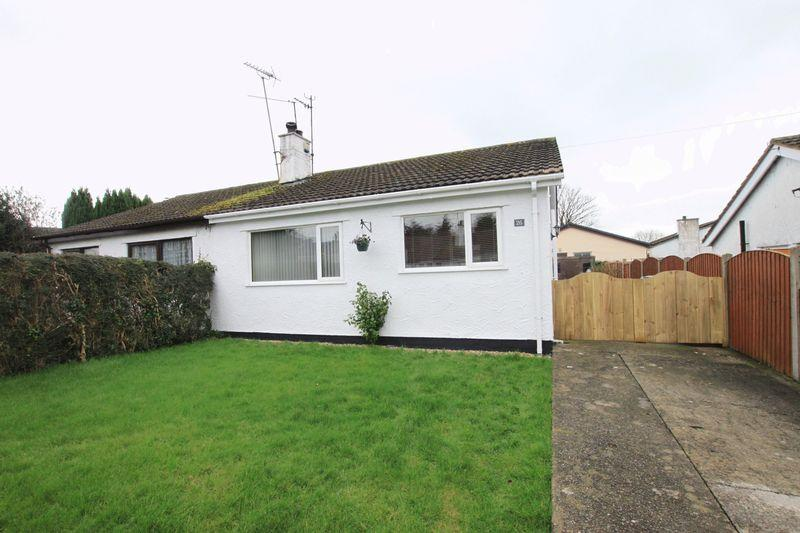2 Bedrooms Semi Detached Bungalow for sale in Tyn Cwrt, Brynsiencyn, Anglesey, LL61 6LJ