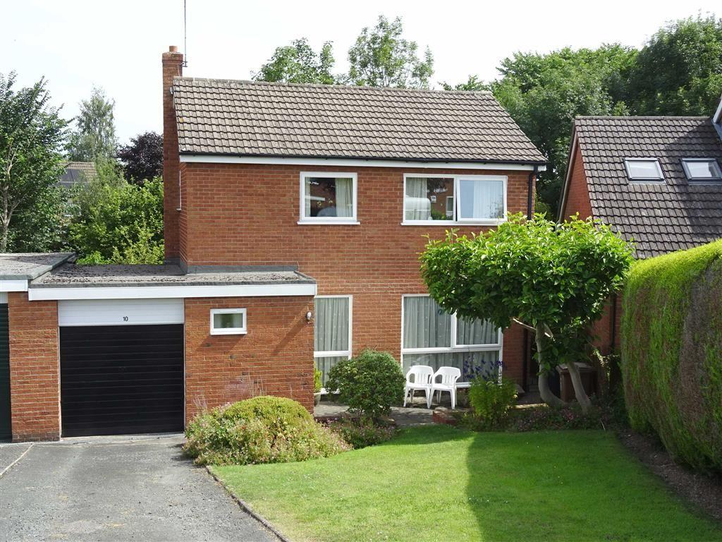 3 Bedrooms Detached House for sale in 10, High Fawr Close, Oswestry, Shropshire, SY11