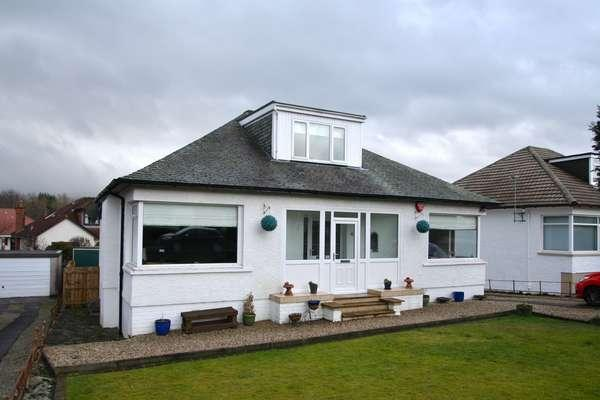 4 Bedrooms Detached Bungalow for sale in 48 Paidmyre Road, Newton Mearns, Glasgow, G77 5AJ