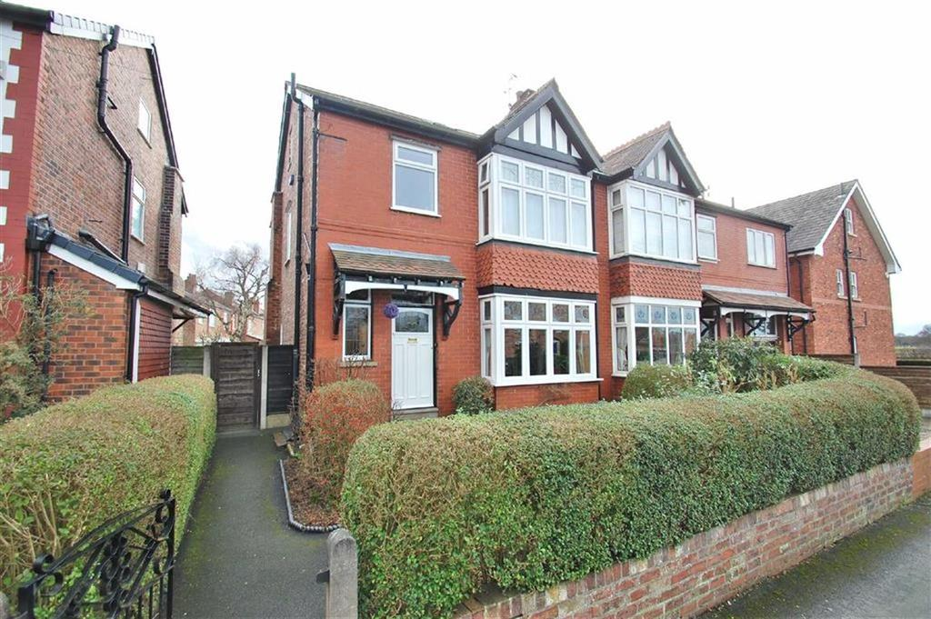4 Bedrooms Semi Detached House for sale in Hulme Hall Avenue, Cheadle Hulme, Cheshire