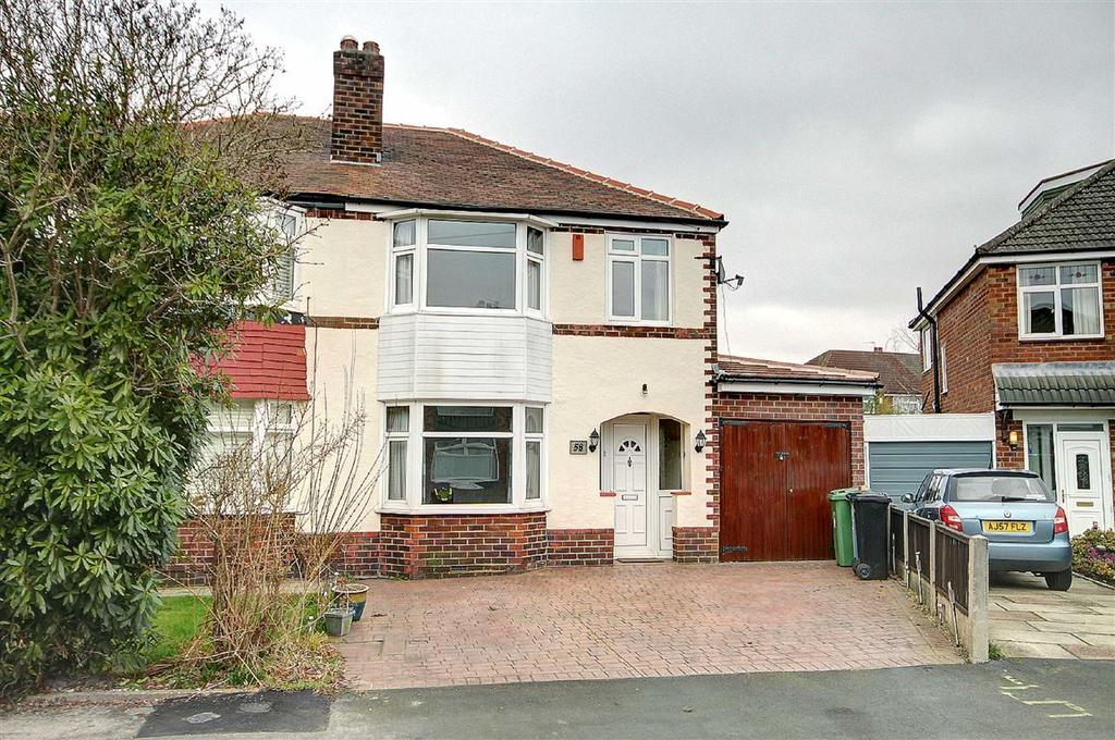 3 Bedrooms Semi Detached House for sale in Alexander Drive, Timperley, Altrincham