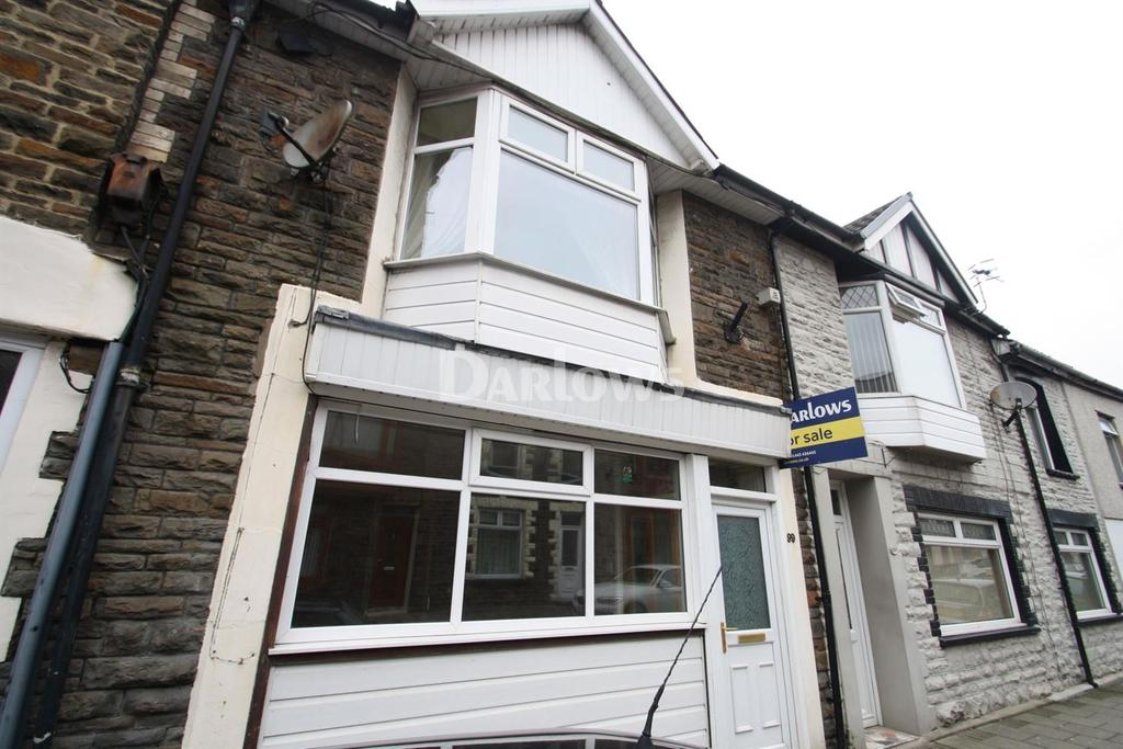 2 Bedrooms Terraced House for sale in Llewellyn Street, Pontygwaith