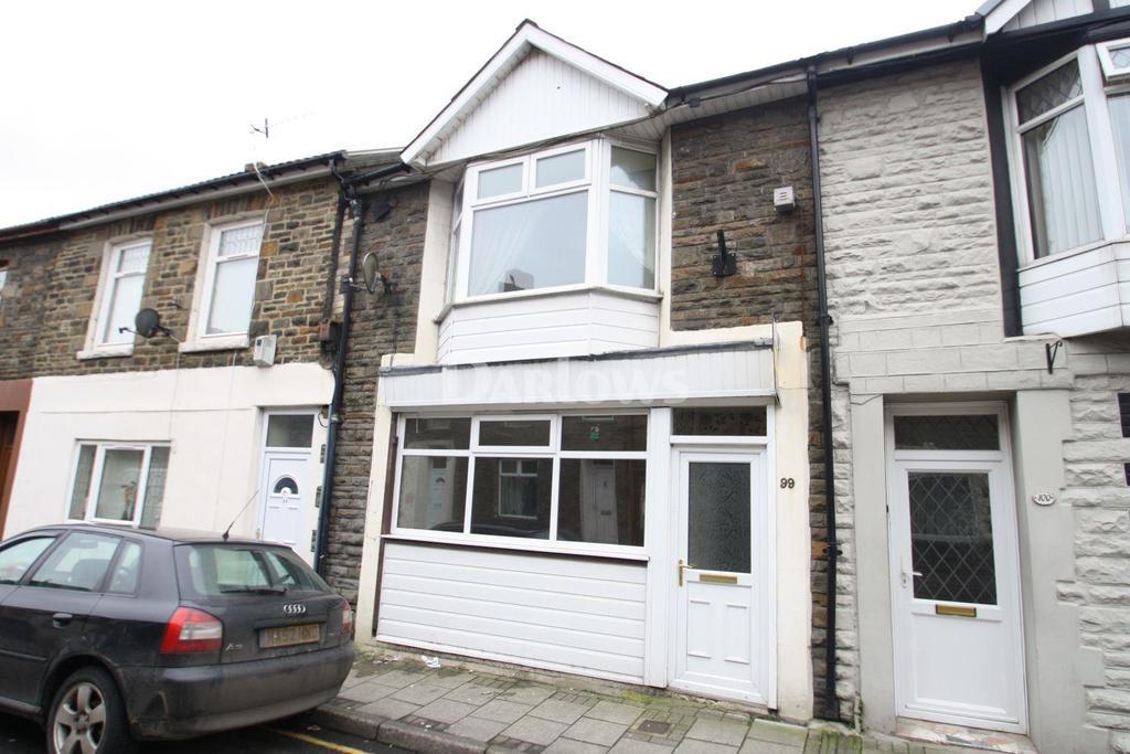 2 Bedrooms Terraced House for sale in Llewellyn Street, Pontygwaith
