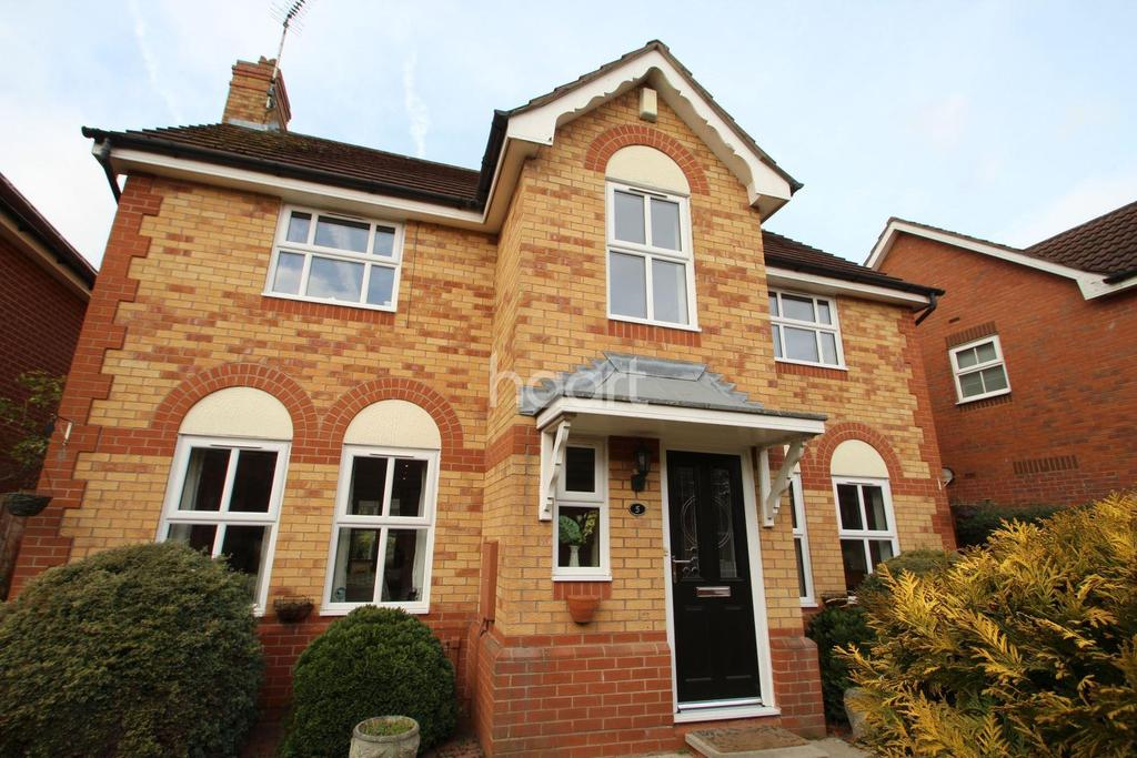 4 Bedrooms Detached House for sale in Ullscarf Close, West Bridgford, Nottinghamshire