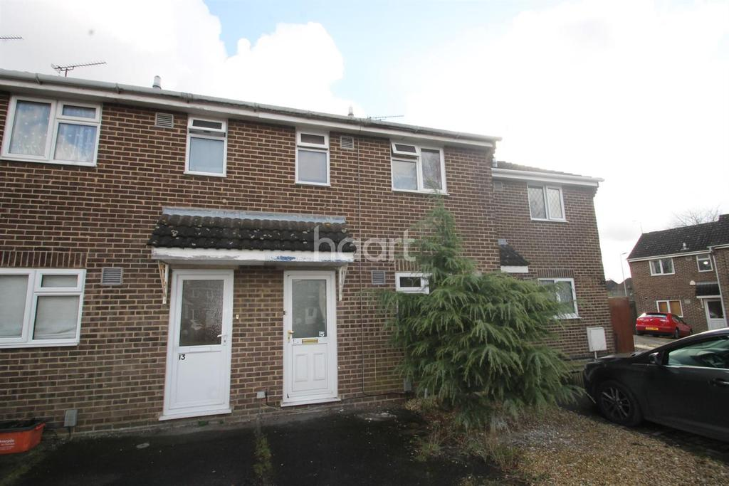 2 Bedrooms Terraced House for sale in Hadleigh Close, Swindon, Wiltshire