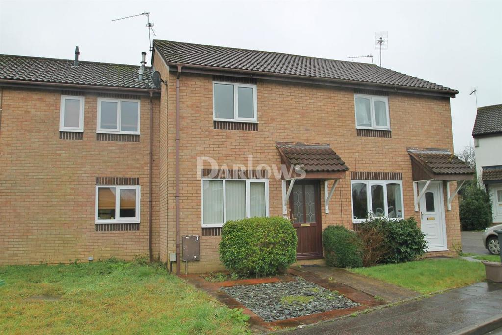 2 Bedrooms Terraced House for sale in Verbena Close, St Mellons, Cardiff