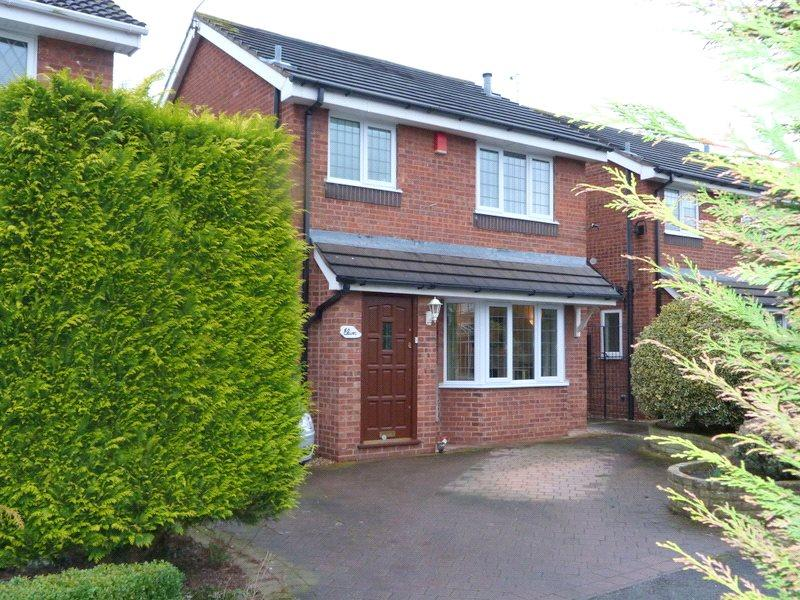 3 Bedrooms Detached House for sale in Melrose Drive, Crewe, Cheshire, CW1