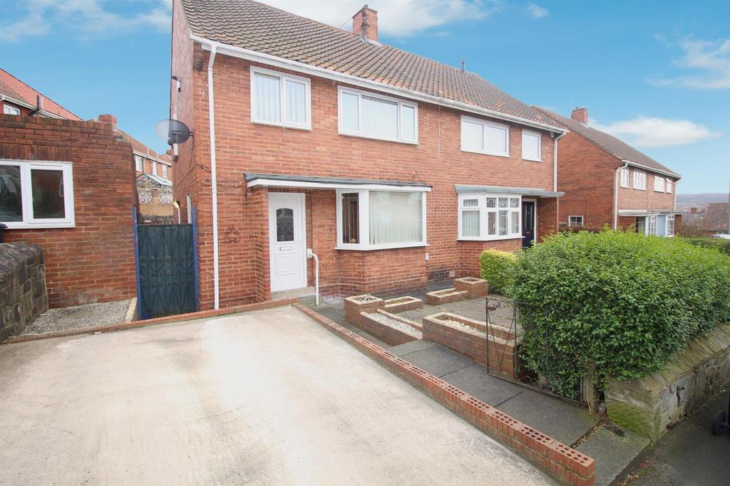 3 Bedrooms Semi Detached House for sale in Huxley Crescent, Gateshead