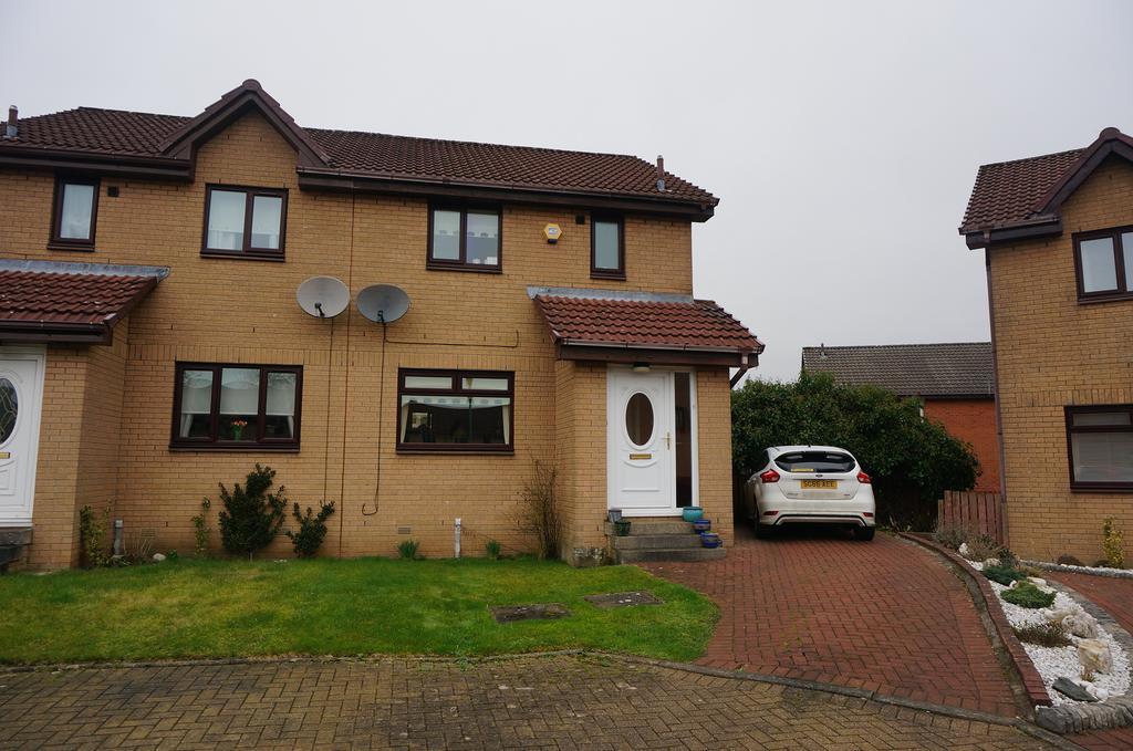 3 Bedrooms Semi Detached House for sale in Gartshore Gardens, Blackwood, Cumbernauld G68
