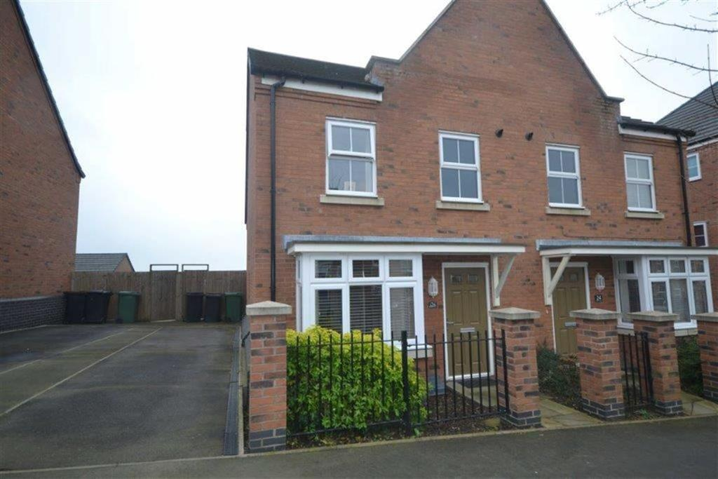 3 Bedrooms Semi Detached House for sale in Brights Road, Camp Hill, Nuneaton