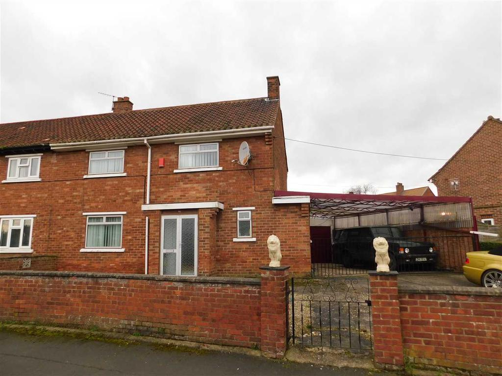 3 Bedrooms Semi Detached House for sale in LIDGETTS CLOSE, SCAWBY, BRIGG