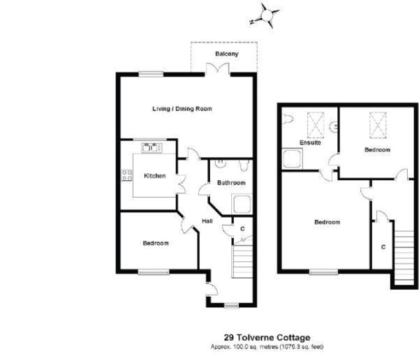 Floorplan: 29 Tolverne Cottage.jpg