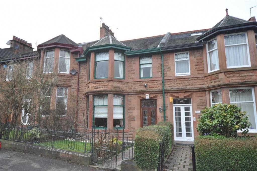 3 Bedrooms Terraced House for sale in 118 Durward Avenue, Waverley Park, G41 3SG