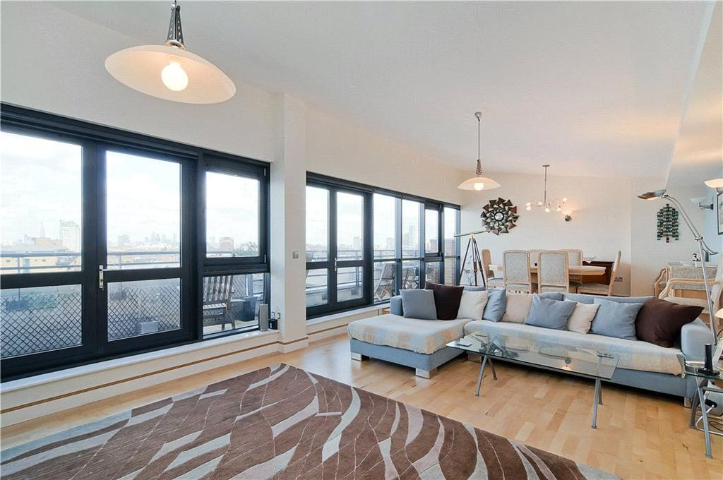 3 Bedrooms Penthouse Flat for sale in Langbourne Place, Isle Of Dogs, London, E14