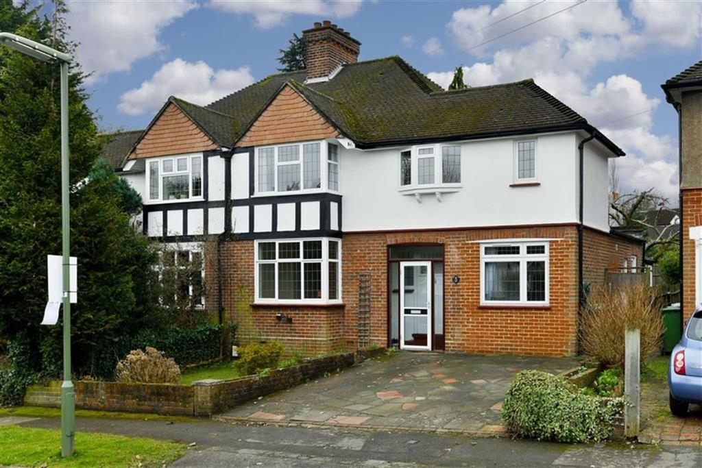 4 Bedrooms Semi Detached House for sale in Digdens Rise, Epsom, Surrey
