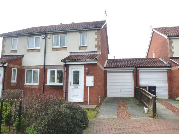 2 Bedrooms Semi Detached House for sale in PALLION PARK, PALLION, SUNDERLAND SOUTH