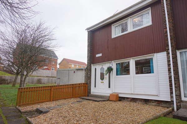 2 Bedrooms End Of Terrace House for sale in 58 Glen Prosen, East Kilbride, Glasgow, G74 3TA