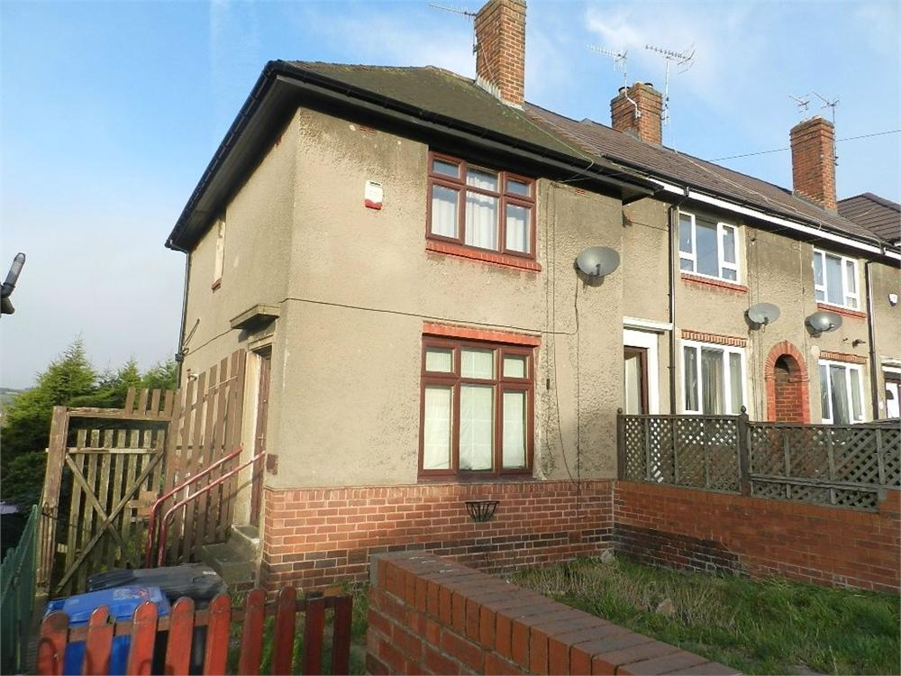 2 Bedrooms End Of Terrace House for sale in Galsworthy Road, Southey Green, SHEFFIELD, South Yorkshire