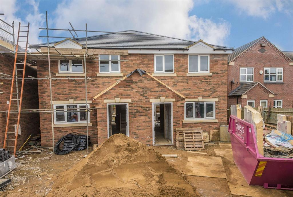 3 Bedrooms Semi Detached House for sale in Rugby Close, Market Harborough