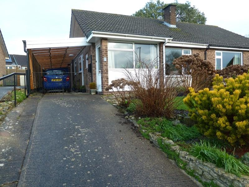 2 Bedrooms Semi Detached Bungalow for sale in Southlands Drive, Timsbury, Bath