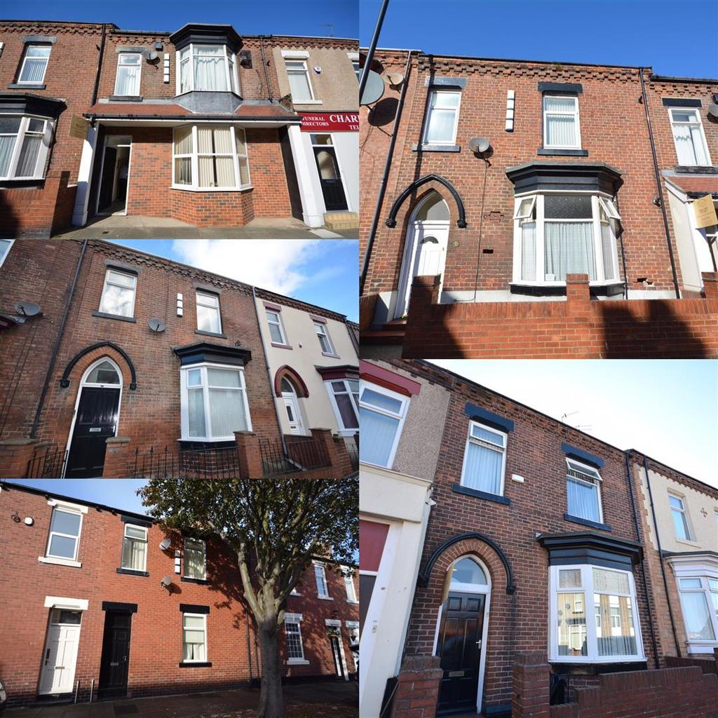 6 Bedrooms Terraced House for sale in Investment Sale, Roker Avenue, Sunderland