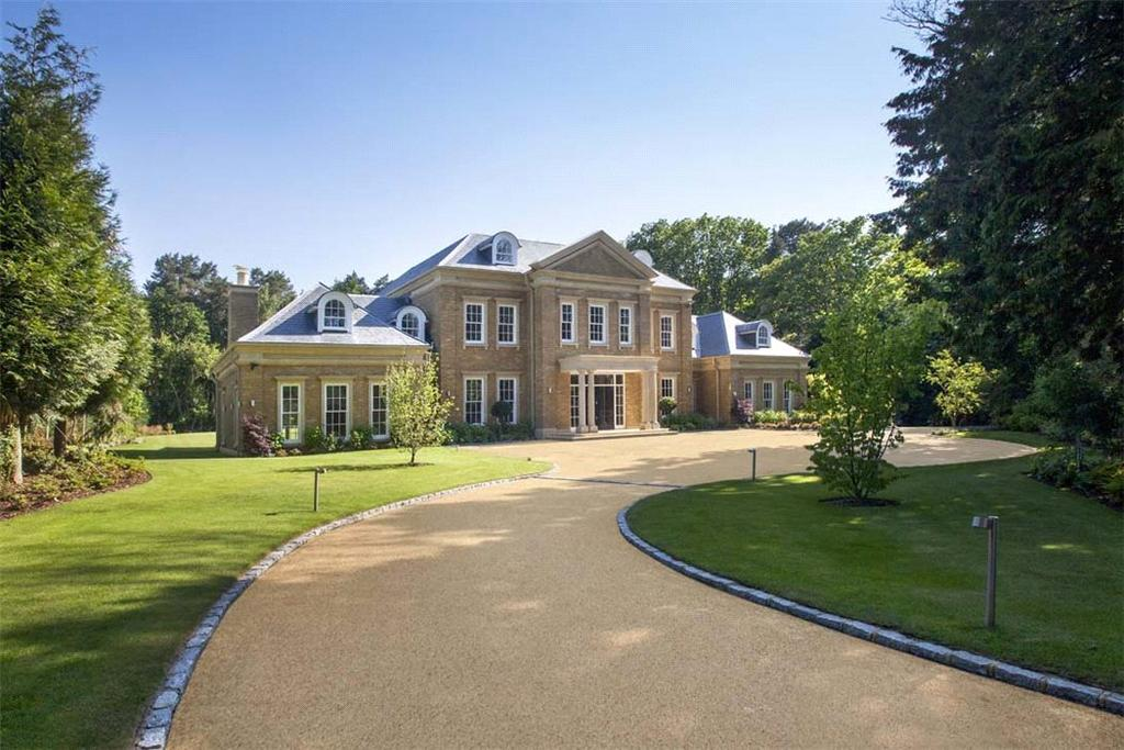 6 Bedrooms Detached House for sale in Cavendish Road, St George's Hill, Weybridge, Surrey, KT13