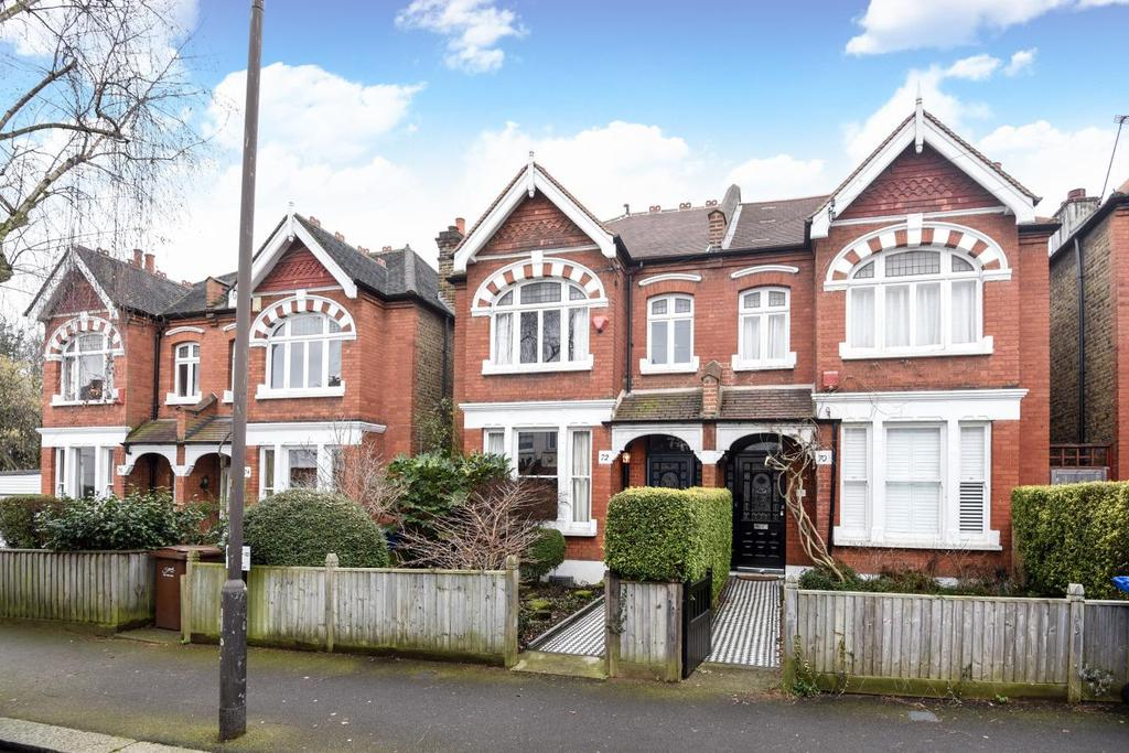 3 Bedrooms Semi Detached House for sale in Ruskin Walk, Herne Hill, SE24