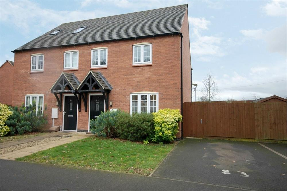 2 Bedrooms Semi Detached House for sale in Buchanan Road, The Coppice, Bilton, RUGBY, Warwickshire