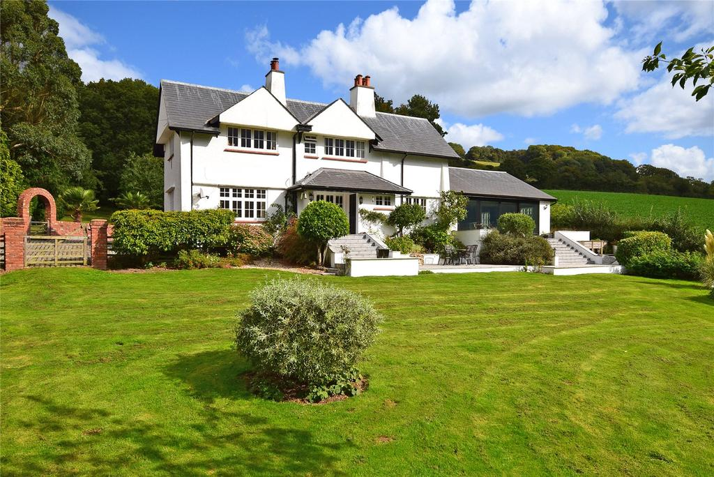 4 Bedrooms Detached House for sale in Beaconsgate, Harcombe, Sidmouth, Devon.
