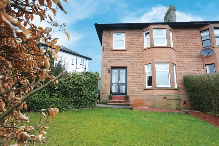 3 Bedrooms Semi Detached House for sale in 2 Beech Avenue, Bearsden, G61 3EX