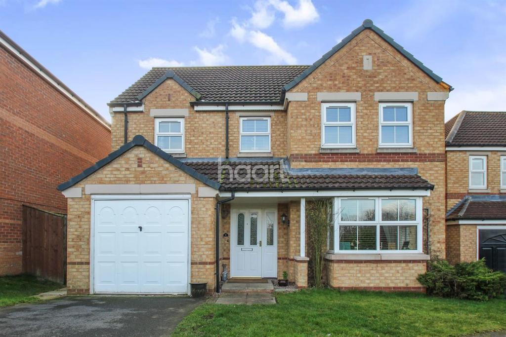 4 Bedrooms Detached House for sale in Midia Close, Lincoln