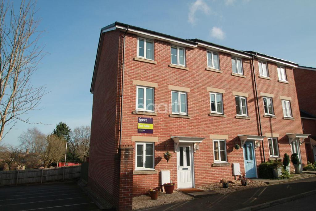 4 Bedrooms End Of Terrace House for sale in Flavius Close, Caerleon
