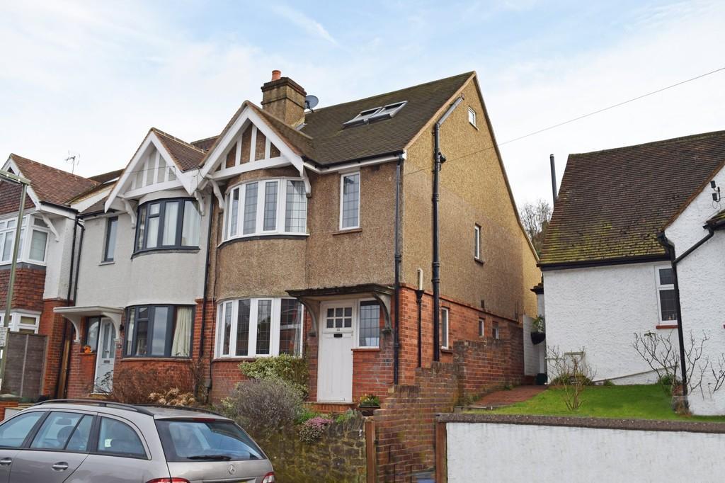 4 Bedrooms Semi Detached House for sale in Wodeland Avenue, Guildford GU2 4JZ