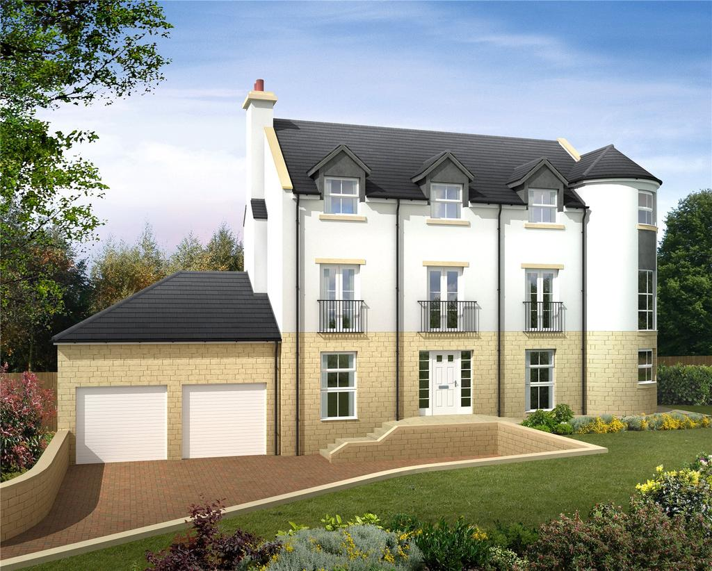 4 Bedrooms Detached House for sale in Monkswood, Gattonside, Melrose, Scottish Borders