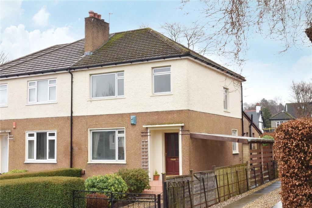 3 Bedrooms Semi Detached House for sale in Clochbar Avenue, Milngavie, Glasgow