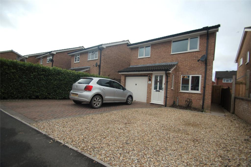 3 Bedrooms Detached House for sale in Carlton Drive, Bridgwater, Somerset, TA6