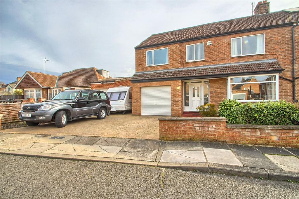 4 Bedrooms Semi Detached House for sale in Hazeldene Avenue, Stockton-on-Tees