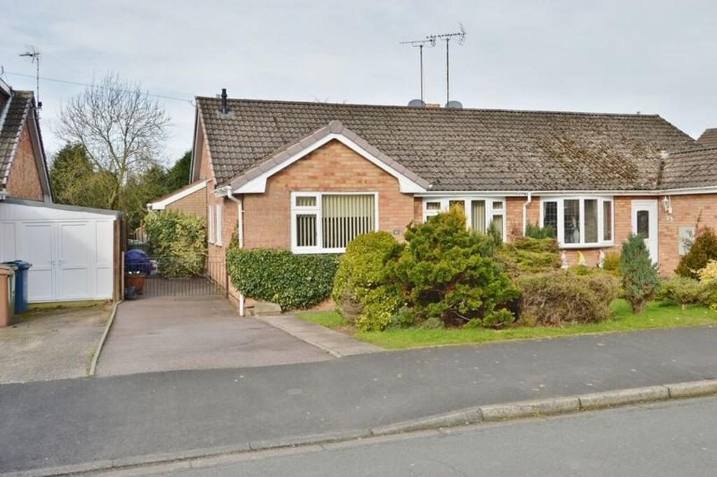 3 Bedrooms Semi Detached Bungalow for sale in Rockhouse Drive, Great Haywood