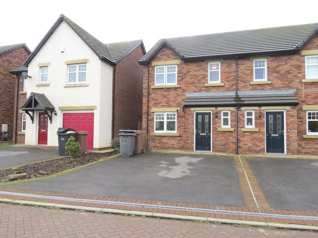 3 Bedrooms Semi Detached House for sale in Leander Close. Whitehaven, Cumbria