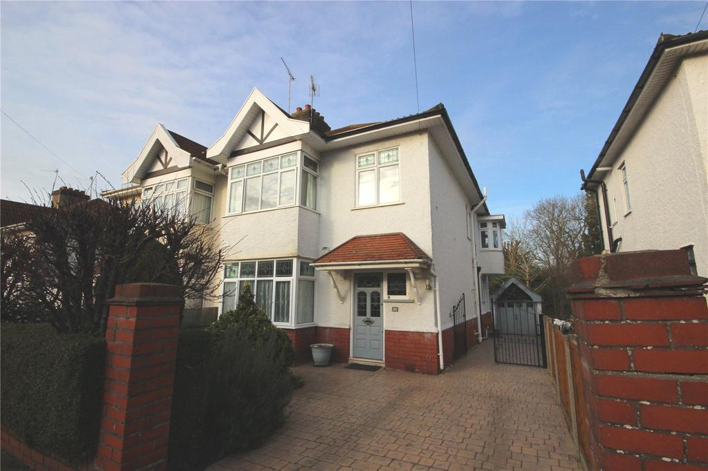 4 Bedrooms Semi Detached House for sale in Glenwood Road, Westbury-on-Trym, Bristol, BS10