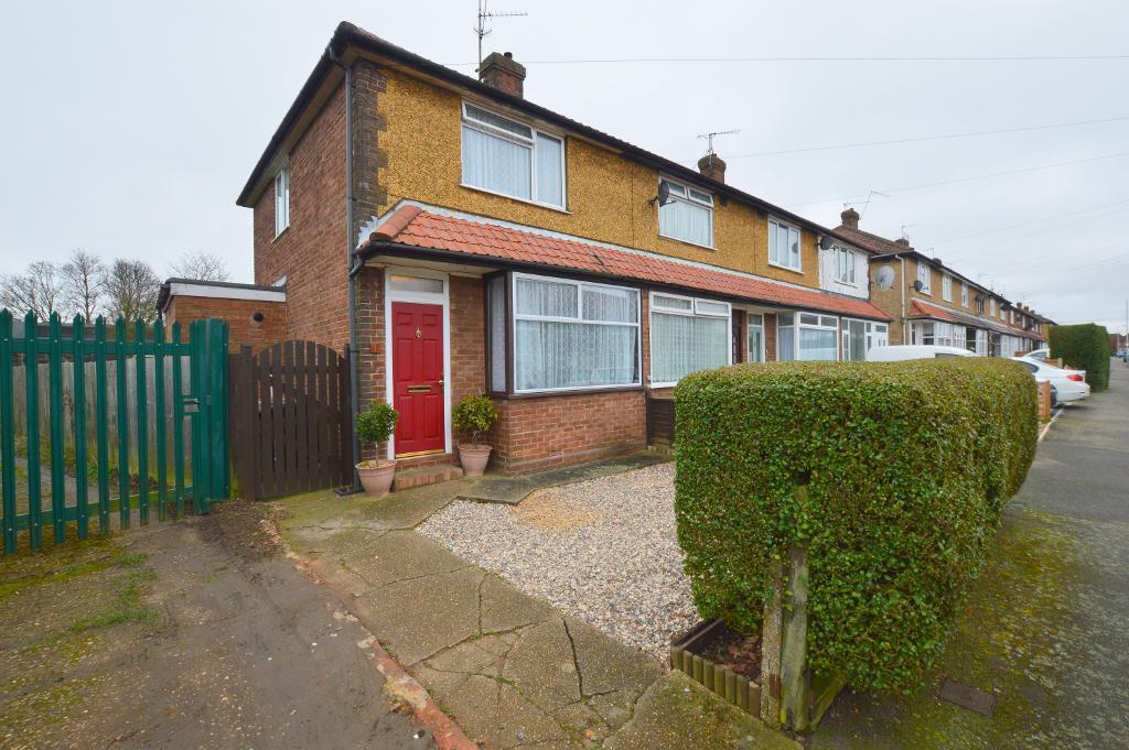 2 Bedrooms End Of Terrace House for sale in Peartree Road, Putteridge, Luton, LU2 8AZ