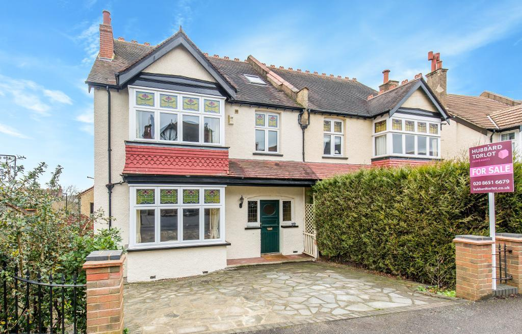 5 Bedrooms Semi Detached House for sale in Heathhurst Road, Sanderstead, South Croydon, Surrey, CR2 0BB