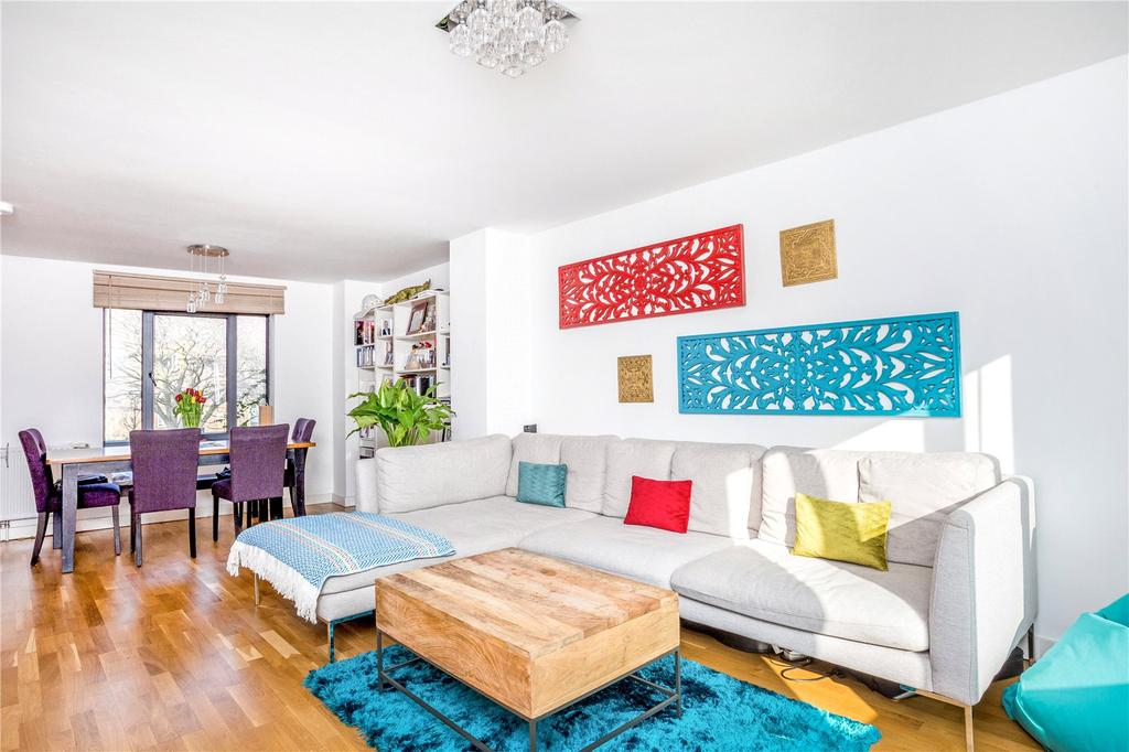 2 Bedrooms Flat for sale in Goldsmiths Row, Broadway Market, London, E2