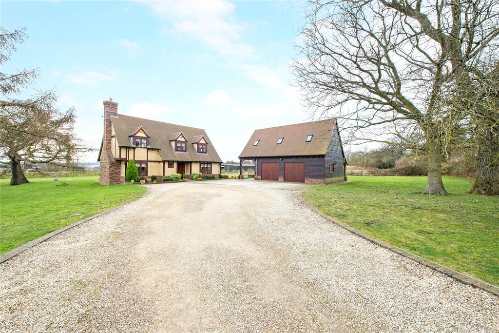 4 Bedrooms Detached House for sale in Coles Lane, Kinsbourne Green, Harpenden, Hertfordshire, AL5