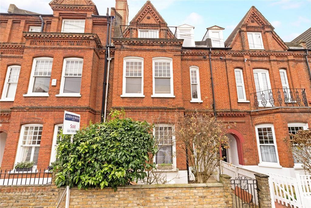 3 Bedrooms Terraced House for sale in Kersley Street, London, SW11