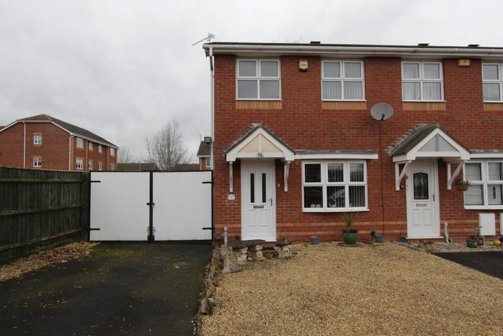 2 Bedrooms Semi Detached House for sale in Exeter Drive, Tame Meadow