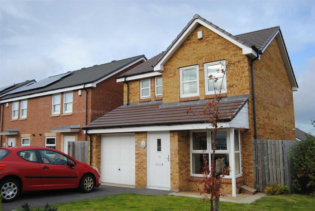 3 Bedrooms Detached House for sale in Dartington Close, Hartley Wood, Sunderland