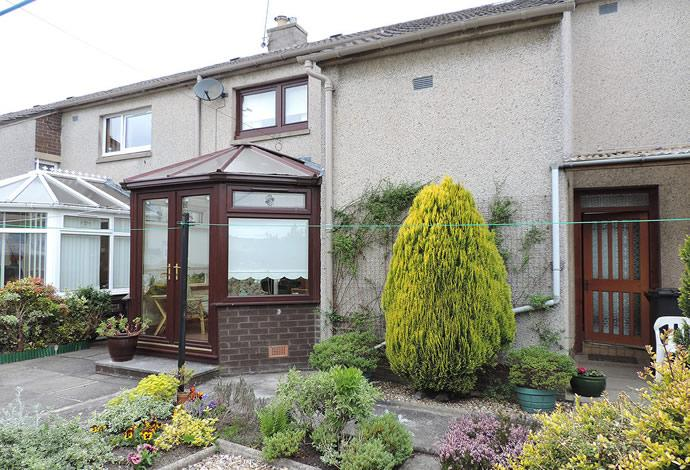 2 Bedrooms Terraced House for sale in 5 Mayfield Drive, Hawick, TD9 7EW