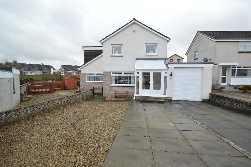 4 Bedrooms Detached House for sale in Lochgreen Place, Kilmarnock, East Ayrshire, KA1 4UY